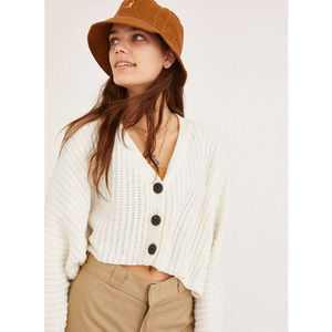 Urban Outfitters Ashlyn Batwing Cropped Cardigan